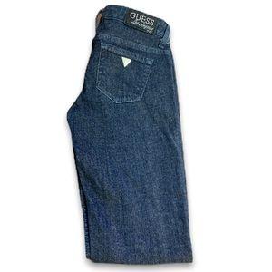 """Guess Women's Blue Jeans Size- 24P inseam 31"""" L-34"""